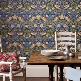 William Morris Tapetkollektion The Craftsman