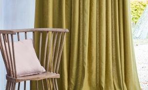 Villa Nova Tygkollektion Mala Wide-Width Plain (44 färger bredd tyg 300 cm)