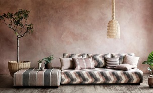 Romo Tygkollektion Soraya Decorative Upholstery Weaves