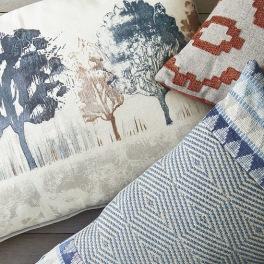 Villa Nova Kuddkollektion Norrland Cushions Kampanj 25% rabatt på hela köpet över 5000 kr (gäller ej rea och tyger) KOD. GTGYTKXL