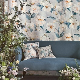 Romo Tygkollektion Gardenia Prints and Embroideries