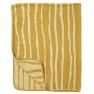 Klippans Yllefabrik Chenillefilt Bamboo (organisk bomull) 4 FÄRGER - Chenillefilt Bamboo 2559-02 Yellow