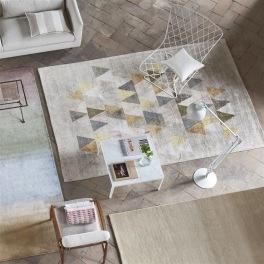 A. Nyhet Designers Guild Handknuten Matta DORSODURO FRESCO Tre storlekar RUGDG0564-66 (Går att måttbeställa)