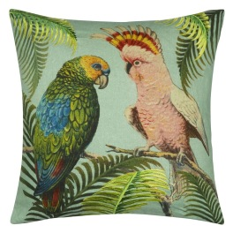 John Derian Kudde PARROT AND PALM AZURE CCJD5025 (1-PACK)