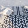 Designers Guild Plastmatta indoor/outdoor Matta DELRAY NOIR 90x150 RUGDG0587 Kampanj 25% rabatt på hela köpet över 5000 kr (gäller ej rea och tyger) KOD. GTGYTKXL - Matta   200x300 köp här