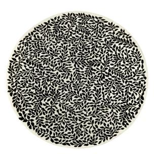 Christian Lacroix Handtuftad matta BOSQUET CARBONE  Rund diameter 250 cm RUGCL0347 Kampanj 25% rabatt på hela köpet över 5000 kr (gäller ej rea och tyger) KOD. GTGYTKXL - Matta rund 250 cm i diameter