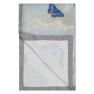 A Nyhet Designers Guild Pläd MIRRORED BUTTERFLIES SKY (digitaltryckt på linne) BLJD5003 (1-Pack)