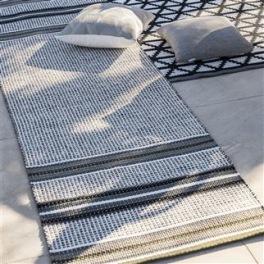 A. Nyhet Designers Guild Plastmatta indoor/outdoor Matta POMPANO NATURAL 75x250 cm RUGDG0576