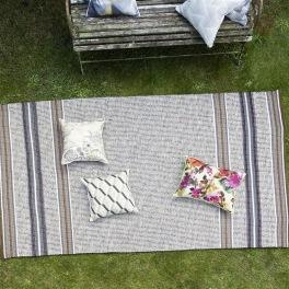 A. Nyhet Designers Guild Plastmatta indoor/outdoor Matta POMPANO NATURAL Fyra storlekar RUGDG0577-78,89,0576
