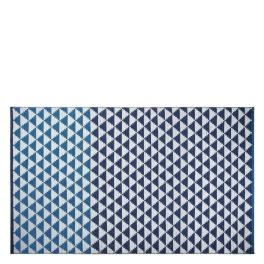 A. Nyhet Designers Guild Plastmatta indoor/outdoor Matta BISCAYNE COBALT 90x150 cm RUGDG0585