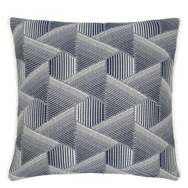 Designers Guild Outdoor Kudde DELRAY INDIGO CCDG0902 (2-PACK)
