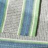 Designers Guild Plastmatta indoor/outdoor Matta POMPANO COBALT 75x250 cm RUGDG0573 Kampanj 25% rabatt på hela köpet över 5000 kr (gäller ej rea och tyger) KOD. GTGYTKXL