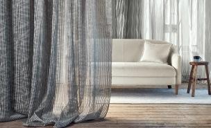 Villa Nova Tygkollektion Leona Sheers Wide-Width Sheers