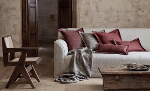 Mark Alexander Tygkollektion Artisan Textured Linen Weaves