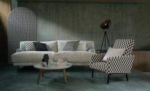 Kirkbydesign Tygkollektion Arco Textures Textured Weaves