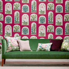 Sanderson Tapetkollektion GLASSHOUSE WALLPAPERS