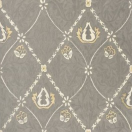 William Morris Matta PURE TRELLIS Lightish Grey art.257139 Fyra storlekar