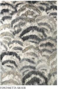 William Yeoward Handknuten Matta 90% bambu, 10% bomull Fontanette Silver Tre storlekar WYR00086X,80X,87X Kampanj 25% rabatt på hela köpet över 5000 kr (gäller ej rea och tyger) KOD. GTGYTKXL