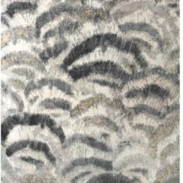 William Yeoward Handknuten Matta 90% bambu, 10% bomull Fontanette Silver Tre storlekar WYR00086X,80X,87X