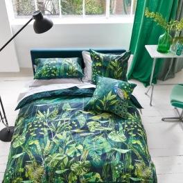 Designers Guild Bäddlinne ARJUNA LEAF VIRIDIAN Kampanj 25% rabatt på hela köpet över 5000 kr (gäller ej rea och tyger) KOD. GTGYTKXL