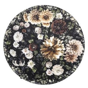 A. Nyhet Designers Guild Digitaltrykt Matta DAHLIA NOIR diameter 250 cm RUGDG0602 - Matta  Diameter 250 cm köp här