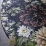 A. Nyhet Designers Guild Digitaltrykt Matta DAHLIA NOIR diameter 250 cm RUGDG0602