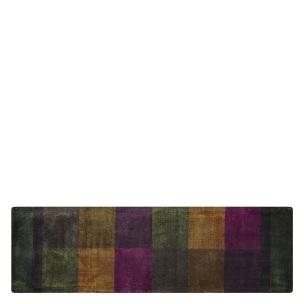 Designers Guild Handtuftad Matta SARANG CHOCOLATE 75x250 cm RUGDG0626 Kampanj 25% rabatt på hela köpet över 5000 kr (gäller ej rea och tyger) KOD. GTGYTKXL