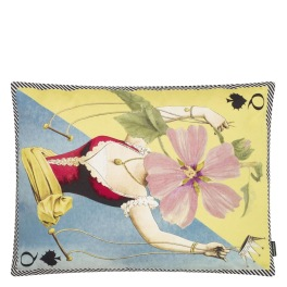 Christian Lacroix Kudde Madame Fleur Printemps Cushion 60 x 45cm CCCL0576 (1-PACK ) Kampanj 25% rabatt på hela köpet över 5000 kr (gäller ej rea och tyger) KOD. GTGYTKXL