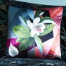A Nyhet Christian Lacroix Kudde Cubic Orchid Multicolore Cushion 50 x 50cm CCCL0578 (2-PACK) - 2-pack Kuddar med rabatt