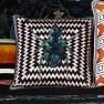 Christian Lacroix Kudde Beetle Waves Oeillet Cushion 40 x 40cm CCCL0575 (1-PACK ) Kampanj 25% rabatt på hela köpet över 5000 kr (gäller ej rea och tyger) KOD. GTGYTKXL