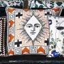 A Nyhet Christian Lacroix Kudde Poker Face Multicolore Cushion 50 x 50cm CCCL0573 (2-PACK )