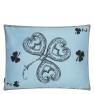A Nyhet Christian Lacroix Kudde Monsieur Fleur Bleu Nigelle Cushion 60 x 45cm CCCL0577 (2-PACK ) - Visar Kudde baksida