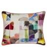 Christian Lacroix Kudde Lovely Escape Multicolore Cushion 60 x 45cm CCCL0574 (1-PACK ) Kampanj 25% rabatt på hela köpet över 5000 kr (gäller ej rea och tyger) KOD. GTGYTKXL - Visar Kudde baksida