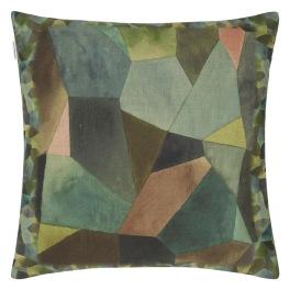 A Nyhet Designers Guild Kudde Geo Moderne Bronze Cushion 50 x 50cm CCDG0930 (1-PACK)