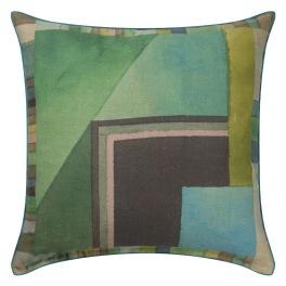 A Nyhet Designers Guild Kudde Alphonse Moss Cushion 45 x 45cm CCDG0928 (1-PACK)