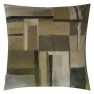 A Nyhet Designers Guild Kudde Fleur Noveau Birch Cushion 55 x 55cm CCDG0927 (1-PACK) - Visar kudde baksida