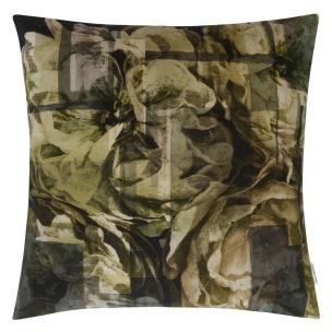A Nyhet Designers Guild Kudde Fleur Noveau Birch Cushion 55 x 55cm CCDG0927 (2-PACK) - 2-pack Kuddar med rabatt