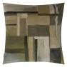A Nyhet Designers Guild Kudde Fleur Noveau Birch Cushion 55 x 55cm CCDG0927 (2-PACK) - Visar kudde baksida