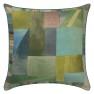 A Nyhet Designers Guild Kudde Alphonse Moss Cushion 45 x 45cm CCDG0928 (1-PACK) - Visar kudde baksida