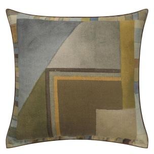 A Nyhet Designers Guild Kudde Alphonse Ochre Cushion 45 x 45cm CCDG0929 (1-PACK) - Kudde  En styck