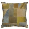 A Nyhet Designers Guild Kudde Alphonse Ochre Cushion 45 x 45cm CCDG0929 (1-PACK) - Visar kudde baksida