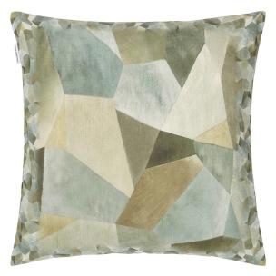 A Nyhet Designers Guild Kudde Geo Moderne Pewter Cushion 50 x 50cm CCDG0931 (1-PACK) - Kudde  En styck