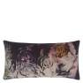 A Nyhet Designers Guild Kudde Fleur De Nuit Noir Cushion 60 x 30cm CCDG0923 (1-PACK) - 2-pack Kuddar med rabatt
