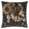 Designers Guild Kudde Dahlia Noir Slate Cushion 55 x 55cm CCDG0922 (1-PACK) Kampanj 25% rabatt på hela köpet över 5000 kr (gäller ej rea och tyger) KOD. GTGYTKXL - 2-pack Kuddar med rabatt