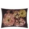 A Nyhet Designers Guild Kudde Le Poeme De Fleurs Rosewood Cushion 60 x 45cm CCDG0924 (1-PACK) - 2-pack Kuddar med rabatt