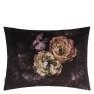 A Nyhet Designers Guild Kudde Le Poeme De Fleurs Rosewood Cushion 60 x 45cm CCDG0924 (1-PACK) - Visar kudde baksida