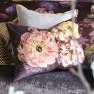 A Nyhet Designers Guild Kudde Le Poeme De Fleurs Rosewood Cushion 60 x 45cm CCDG0924 (1-PACK)