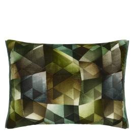 A Nyhet Designers Guild Kudde Maurier Emerald Cushion 60 x 45cm CCDG0951 (1-PACK)