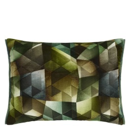 A Nyhet Designers Guild Kudde Maurier Emerald Cushion 60 x 45cm CCDG0951 (2-PACK)