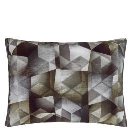 A Nyhet Designers Guild Kudde Maurier Graphite Cushion 60 x 45cm CCDG0953 (1-PACK)